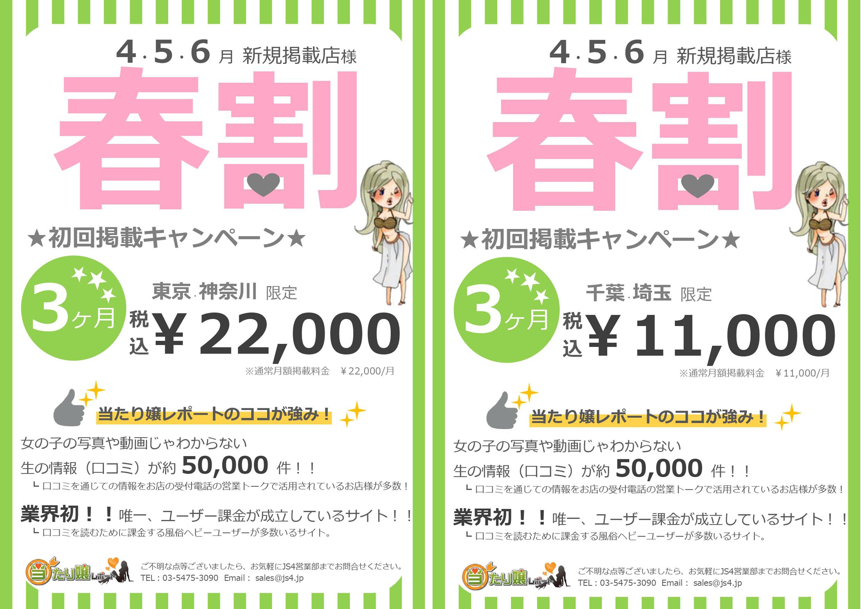 左:東京・神奈川エリア資料/右:千葉・埼玉エリア資料