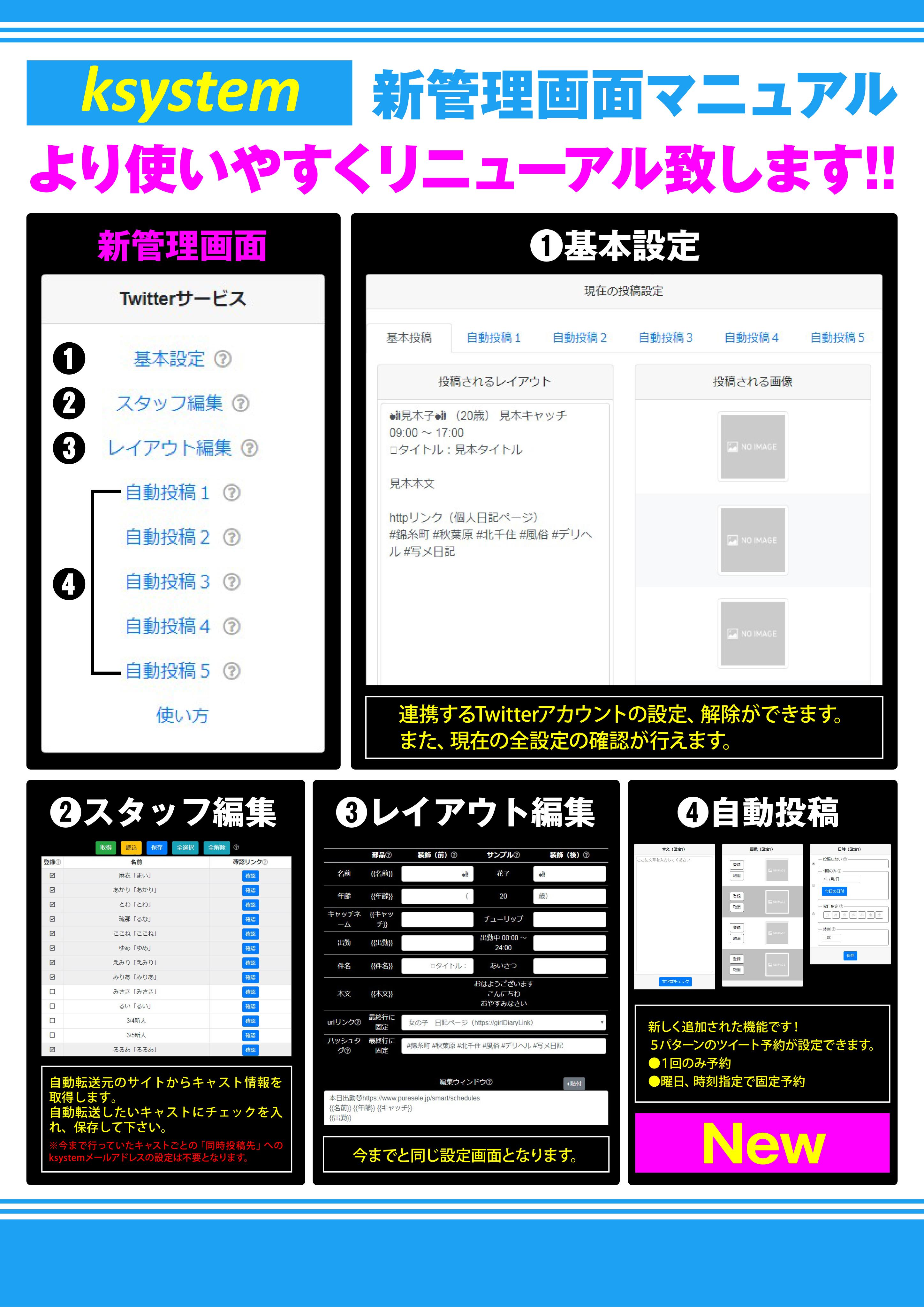 【ksystem】リニューアル資料