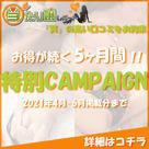 【当たり嬢レポート】お得に掲載!特別キャンペーン開催のお知らせです。