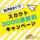 【365日マネー女子宣言】11月度掲載も「スカウト3,000通無料キャンペーン」続行です!