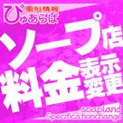 【ぴゅあらば】ソープ店舗様料金表示変更のご案内